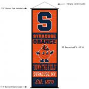 Syracuse University Decor and Banner