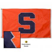 Syracuse University Nylon Embroidered Flag