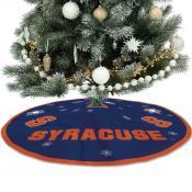 Syracuse University Orange Christmas Tree Skirt
