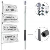 Tailgate Flag Pole