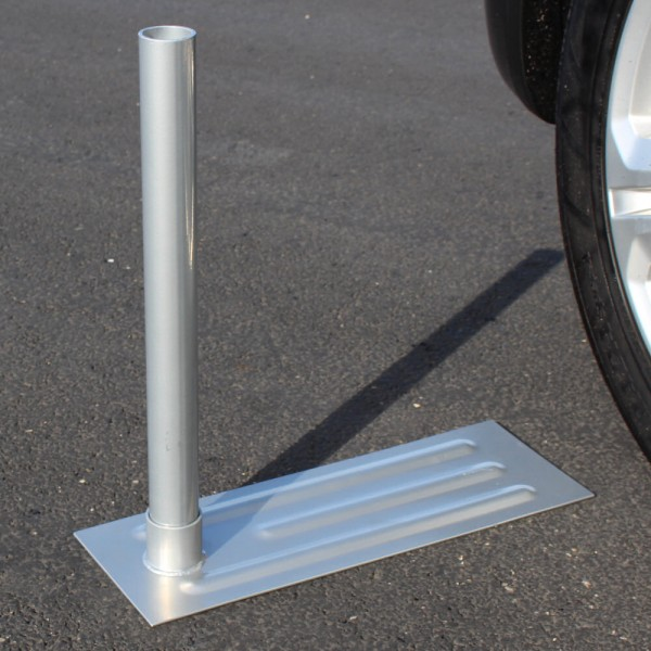 Tailgating Flagpole Tire Base Mount