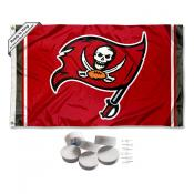 Tampa Bay Buccaneers Banner Flag with Tack Wall Pads