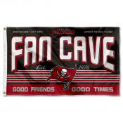 Tampa Bay Buccaneers Fan Cave Flag Large Banner