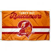 Tampa Bay Buccaneers Throwback Retro Vintage Logo Flag