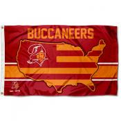 Tampa Bay Buccaneers USA Country Flag