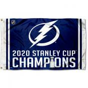 Tampa Bay Lightning 2020 Stanley Cup Champions Flag