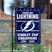 Tampa Bay Lightning 2020 Stanley Cup Champions Garden Flag
