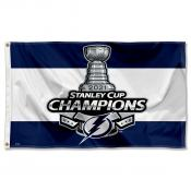 Tampa Bay Lightning 2021 Stanley Cup Champions Flag