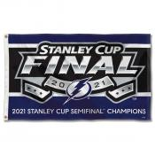 Tampa Bay Lightning 2021 Stanley Cup Semifinals Champions Flag
