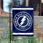Tampa Bay Lightning Circle Logo Garden Flag