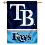 Tampa Bay Rays Double Sided House Flag