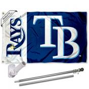 Tampa Bay Rays Flag Pole and Bracket Kit