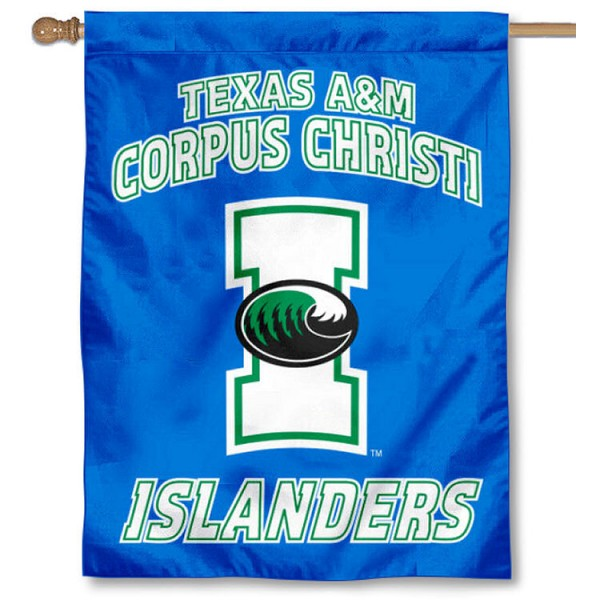 TAMU CC Islanders House Flag is a vertical house flag which measures 30x40 inches, is made of 2 ply 100% polyester, offers screen printed NCAA team insignias, and has a top pole sleeve to hang vertically. Our TAMU CC Islanders House Flag is officially licensed by the selected university and the NCAA.