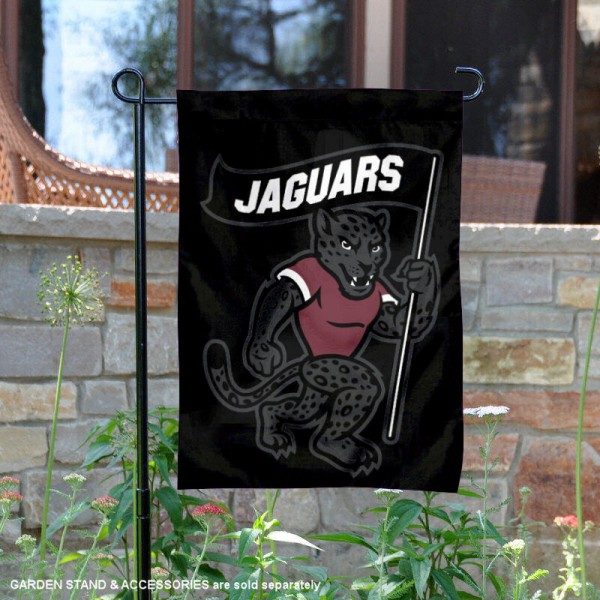 TAMUSA Jaguars General the Jaguar Garden Flag is 13x18 inches in size, is made of 2-layer polyester, screen printed university athletic logos and lettering, and is readable and viewable correctly on both sides. Available same day shipping, our TAMUSA Jaguars General the Jaguar Garden Flag is officially licensed and approved by the university and the NCAA.