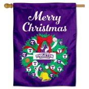 Tarleton State Texans Happy Holidays Banner Flag