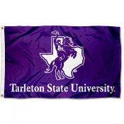 Tarleton State Texans Logo Flag