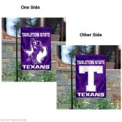 Tarleton State Texans Two Logo Garden Flag
