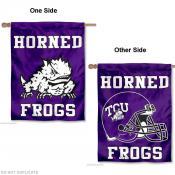 TCU Horned Frogs Helmet House Flag