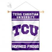 TCU Horned Frogs Window and Wall Banner