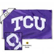 TCU Small 2'x3' Flag