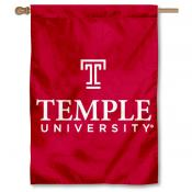 Temple Owls Double Sided Banner