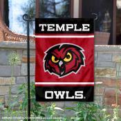 Temple Owls Garden Flag