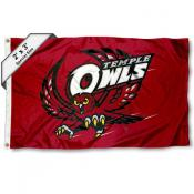 Temple Owls Small 2'x3' Flag