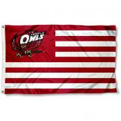 Temple Owls Stripes Flag