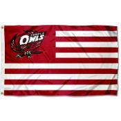 Temple Owls Stripes Flag