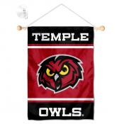 Temple Owls Window and Wall Banner