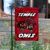 Temple University Owls Garden Flag