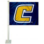 Tennessee Chattanooga Mocs Car Flag