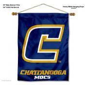 Tennessee Chattanooga Mocs Wall Banner