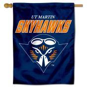 Tennessee Martin Skyhawks Double Sided House Flag