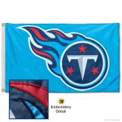 Tennessee Titans Embroidered Nylon Flag