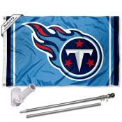 Tennessee Titans Flag Pole and Bracket Kit