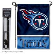 Tennessee Titans Garden Flag and Stand