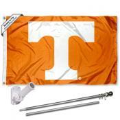 Tennessee Volunteers Flag Pole and Bracket Kit