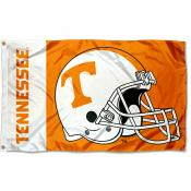 Tennessee Volunteers Football Helmet Flag