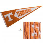 Tennessee Volunteers Genuine Wool Pennant