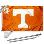 Tennessee Volunteers SEC Flag Pole and Bracket Kit