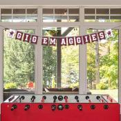 Texas A&M Aggies Banner String Pennant Flags