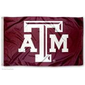Texas A&M Aggies Beveled Logo Flag