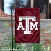 Texas A&M Aggies Beveled Logo Garden Flag