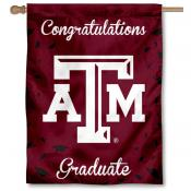 Texas A&M Aggies Congratulations Graduate Flag