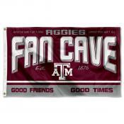 Texas A&M Aggies Fan Man Cave Game Room Banner Flag