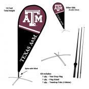 Texas A&M Aggies Feather Flag Kit