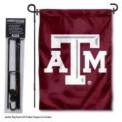 Texas A&M Aggies Garden Flag and Pole Stand Mount