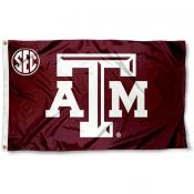 Texas A&M Aggies SEC Flag