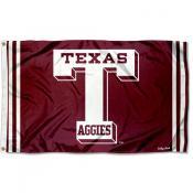 Texas A&M Aggies Throwback Vault Logo Flag